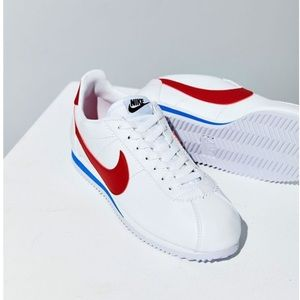 Nike Cortez blue and red size 9